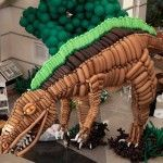 Lightweight Dinosaur – Balloon Sculpture by Airigami