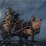 Faery Worlds by Jean-Baptiste Monge