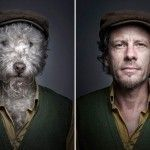 A Dog and His Best Friend – Photomanipulations by Sebastian Magnani