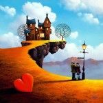 Everybody Loves A Lover – Paintings by David Renshaw