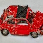 Flattened – Installation by Ron Arad