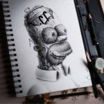 Distroy – A Gritty Remake of Iconic Cartoon Characters by Pierre-Yves Riveau