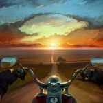 "A Long Journey – Imaginative Illustrations by Artem ""Rhads"" Cheboha"