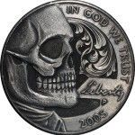 Nicked Nickels – Hobo Nickel Art by Paolo Curcio