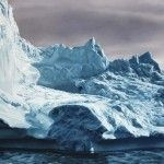 Realistic Iceberg Paintings by Zaria Forman