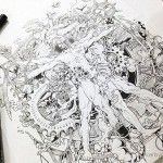 Just Doodles – Impressive Ink Illustrations by Kerby Rosanes