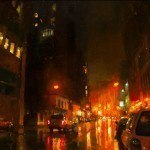 Cityscapes – Oil on Canvas by Jeremy Mann