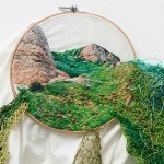 Awesome Overflowing Embroidery by Ana Teresa Barboza