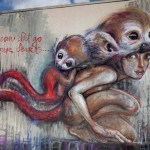 Fantastic Wall Art by HERAKUT