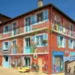 Cheerful Facades – Fun Murals by Patrick Commecy