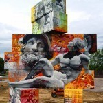 Greek God Graffiti by Pichi & Avo
