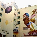 Colorful Gigantic Murals by Etam Cru