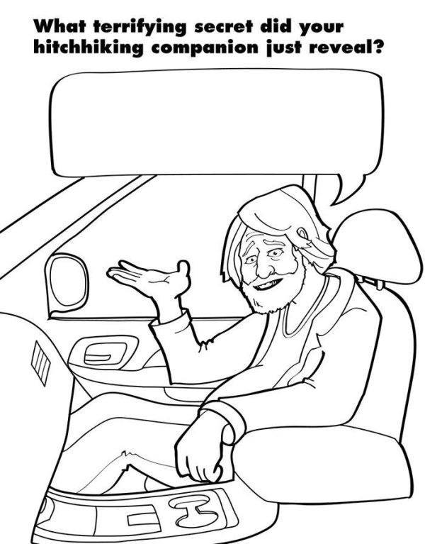 Hilarious Coloring Books For Adults By Ryan Hunter And Taige Jensen