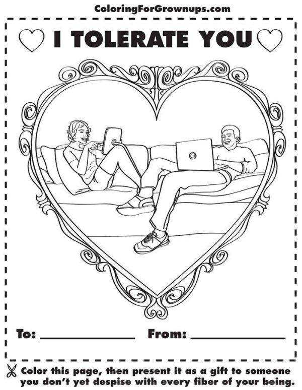 Hilarious Coloring Books for Adults by Ryan Hunter and Taige ...