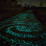 Enchanting Glow-in-the-Dark Bike Paths by Daan Roosegaarde