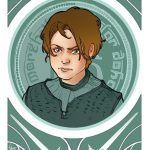 Game of Thrones Playing Card Designs and Disney Selfies - Illustrations by Simona Bonafini