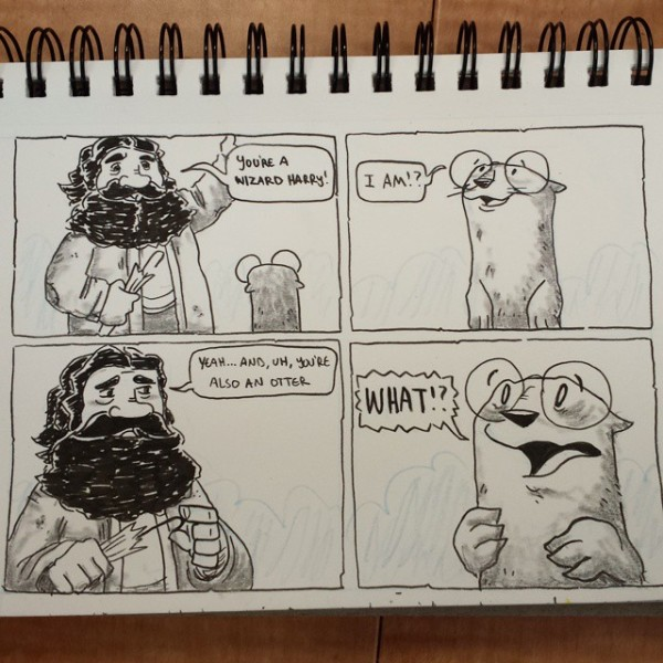 Harry Otter A young boy finds out who, and what, he is. Magic ensues.