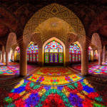 Mosque Ceilings - Mesmerizing Colors in the Middle East