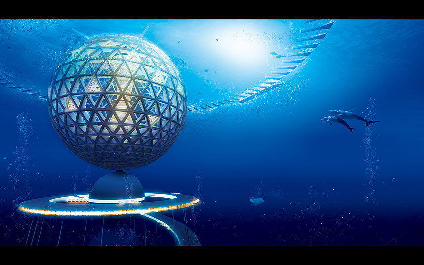 Shimizu Corporation, Japan's design for an underwater city