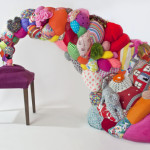 Recycling Old Toys and Clothing for Sculptures by Hoda Zarbaf