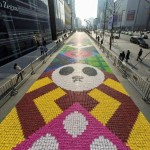 A Sweet Tooth's Delight: World's Largest Candy Art Carpet