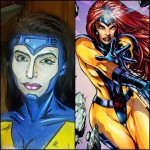 Face Painting Transforms Ordinary Humans to Superheroes - by Lianne Moseley