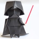 How To Make Darth Vader in Origami
