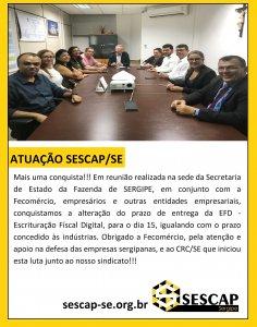 ATUAÇÃO-SESCAP-EFD