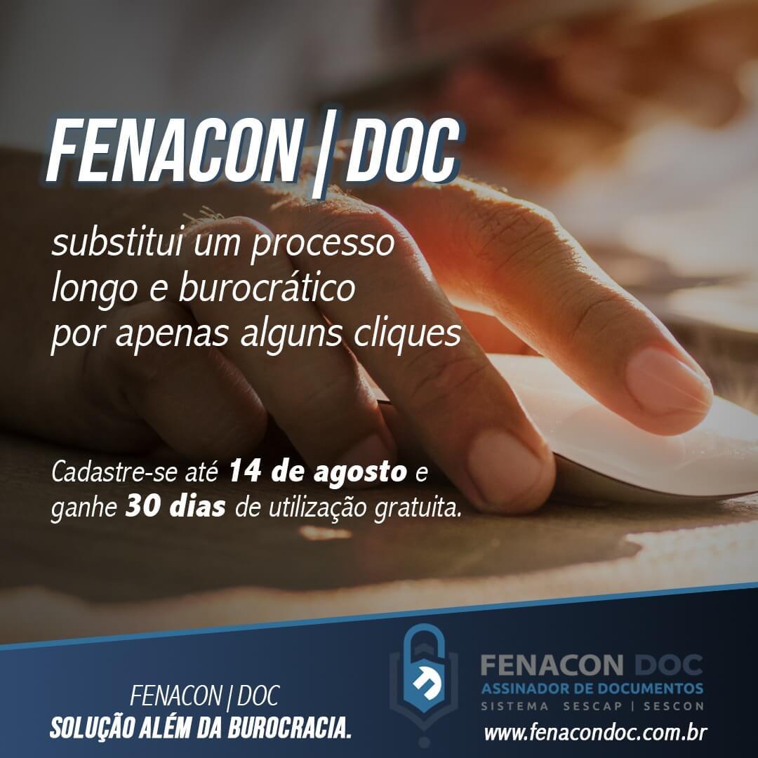 FENACON DOC: SOLUÇÃO ALÉM DA BUROCRACIA
