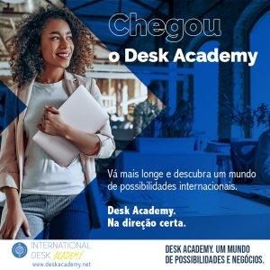 DESK ACADEMY, PLATAFORMA DE CURSOS INTERNACIONAIS DA FENACON