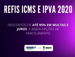 REFIS ICMS 2020