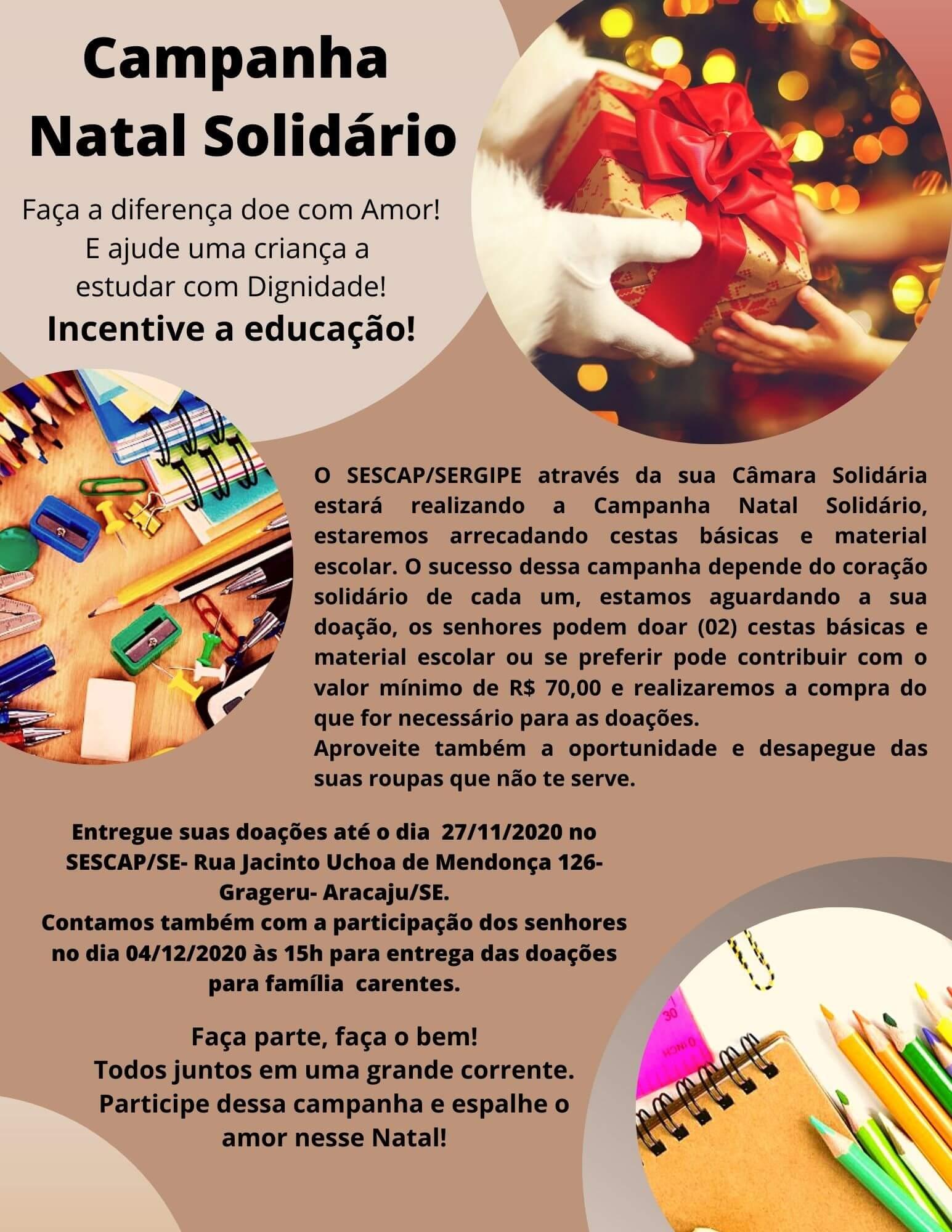 CAMPANHA NATAL SOLIDÁRIO