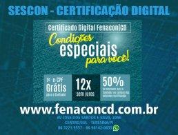 arte falando sobre a certificação digital