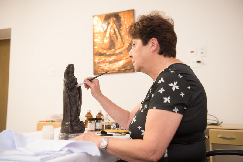 Maria Helena Chartuni relembra trabalho com Imagem de Aparecida