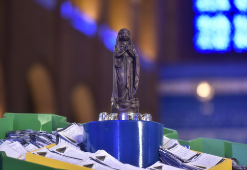 O Santuário de Aparecida celebra neste dia 12 de junho a Coroação de Nossa Senhora Aparecida. Fotos: Thiago Leon