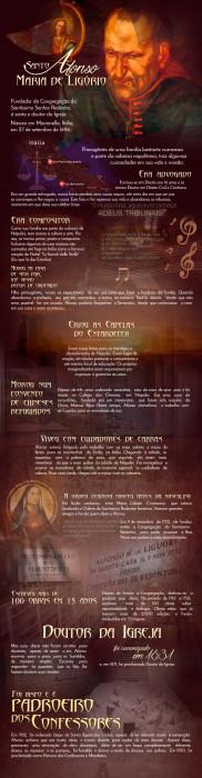 Infográfico :: Conheça São Pio de Pietrelcina, um santo extraordinário