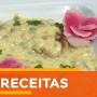 Peixe ao molho de camarão e maracujá com homus de beterraba por Iran Rodrigues -