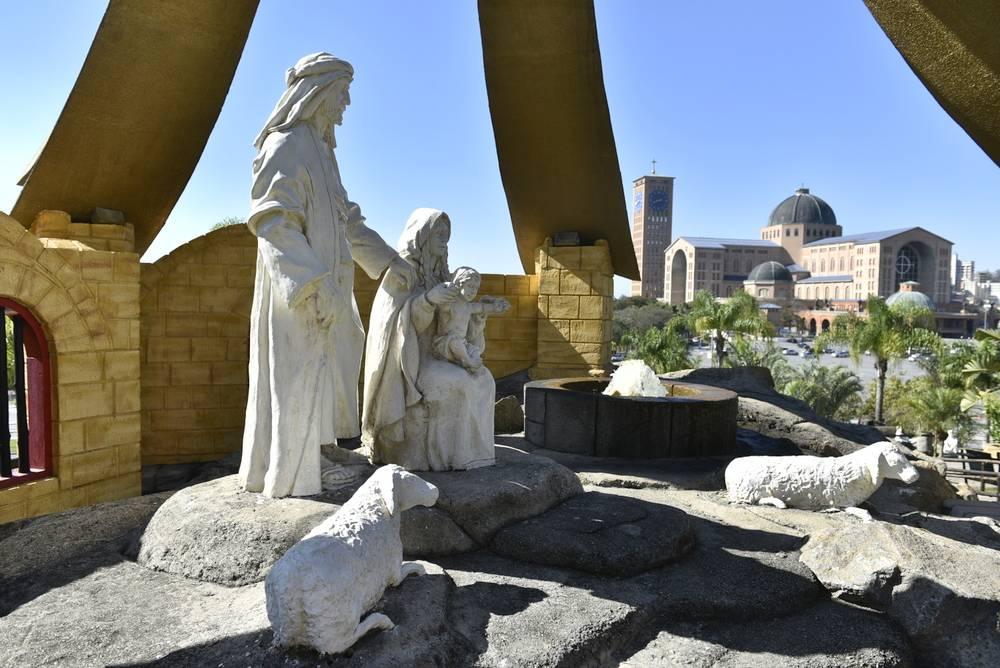 Visite o Morro do Presépio em qualquer dia do ano no Santuário