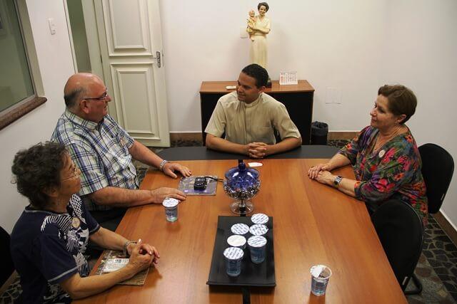 Representantes da OICP conheceram rotinas do cerimonial litúrgico e protocolar do Santuário Nacional