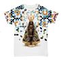 Camiseta Nossa Senhora Aparecida Floral - Feminina