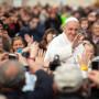 Papa Francisco com o povo