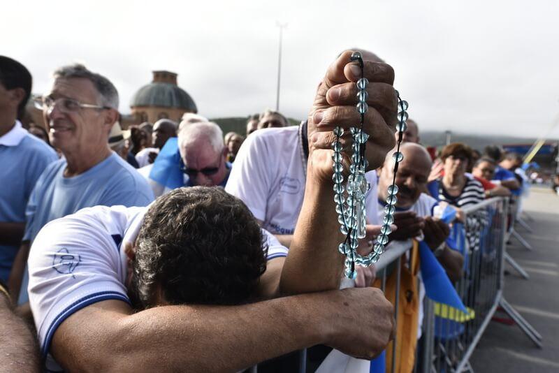 Demonstrações de amor e fé marcam dez anos da Romaria do Terço dos Homens
