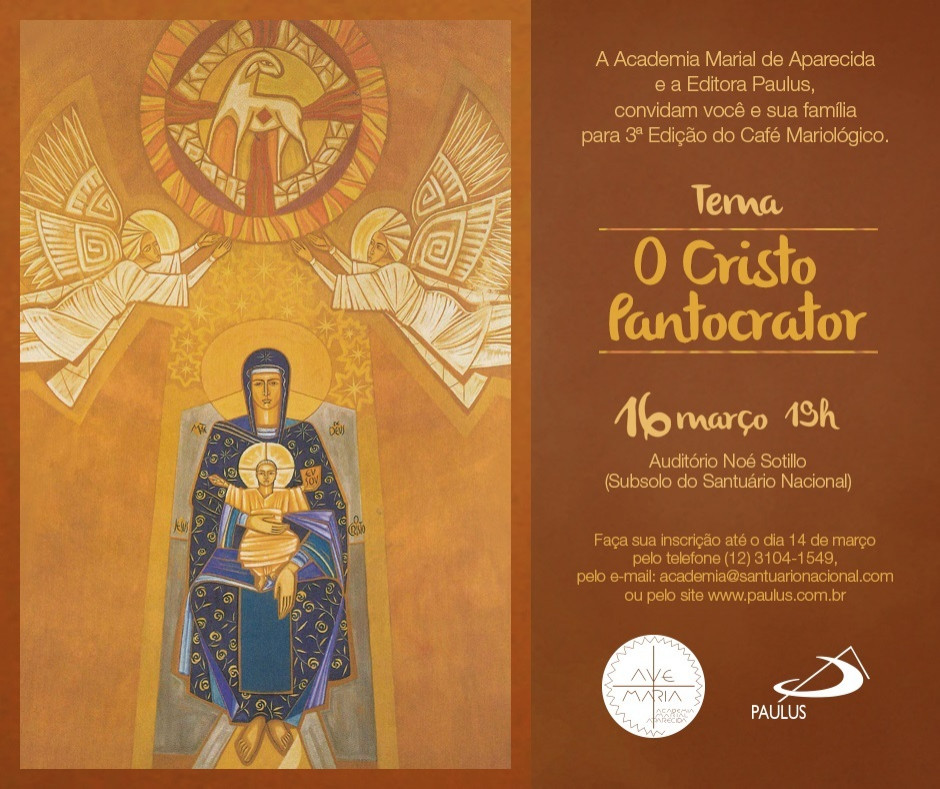 Café Mariológico apresenta estudo do Cristo Pantocrator de Claudio Pastro