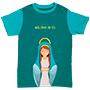 Camiseta Infantil Mamãe do céu