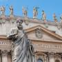 Estátua de São Pedro no Vaticano - chaves