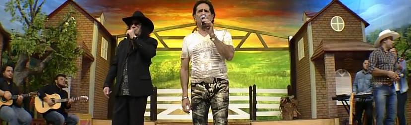 Léo Canhoto e Robertinho cantam sucessos no Terra da Padroeira