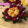Flor de lótus em crochê por Maria José - 16 de maio de 2018