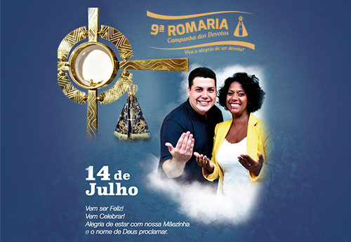 Participe da 9º Romaria da Campanha dos Devotos em julho