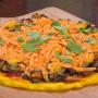 pizza polenta