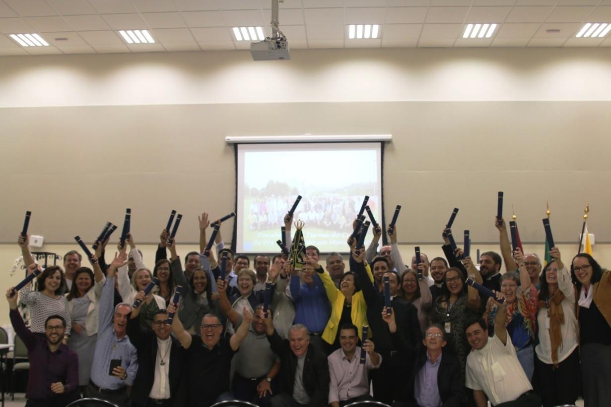 Primeira turma de Mariologia do Brasil conclui pós-graduação